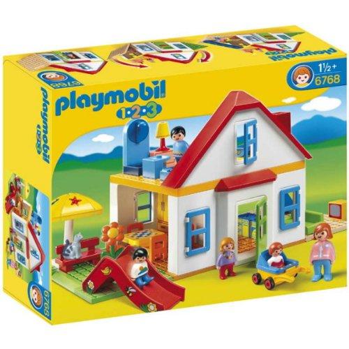 Maison de campagne playmobil 123, le parfait jouet pour les petits